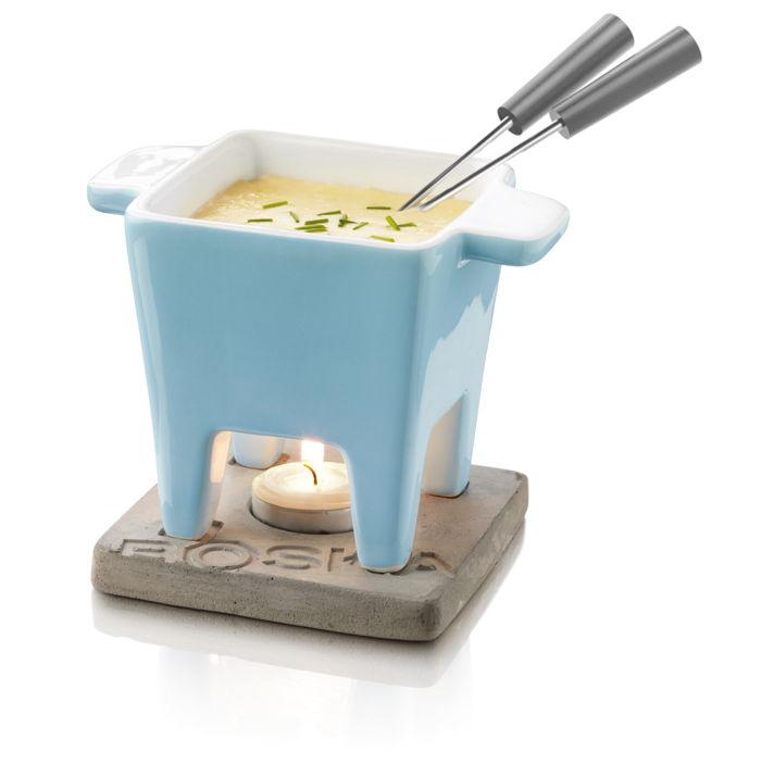 service fondue 2 personnes boska life tapas bleu raviday fromage. Black Bedroom Furniture Sets. Home Design Ideas