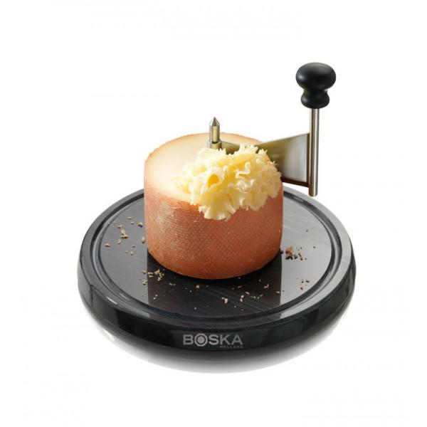 Girolle à fromage avec socle en marbre Boska Monaco