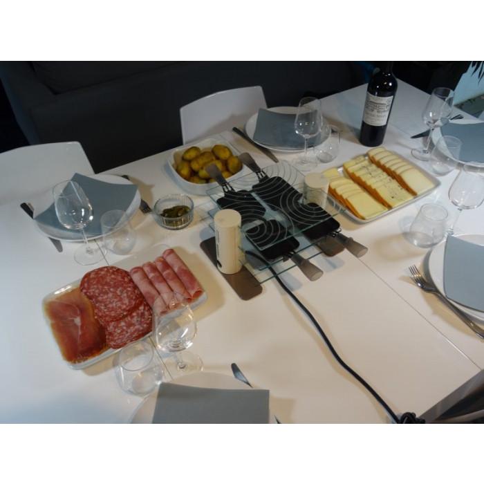 Appareil raclette 4 personnes lagrange transparence - Appareil raclette 4 personnes ...