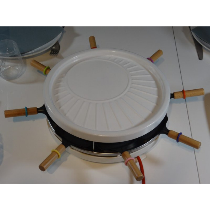 appareil a raclette pierrade crepe  personnes lagrange grill crepes
