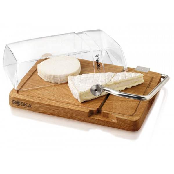 Planche à fromage avec fil à couper, plateau Boska Petit Paris