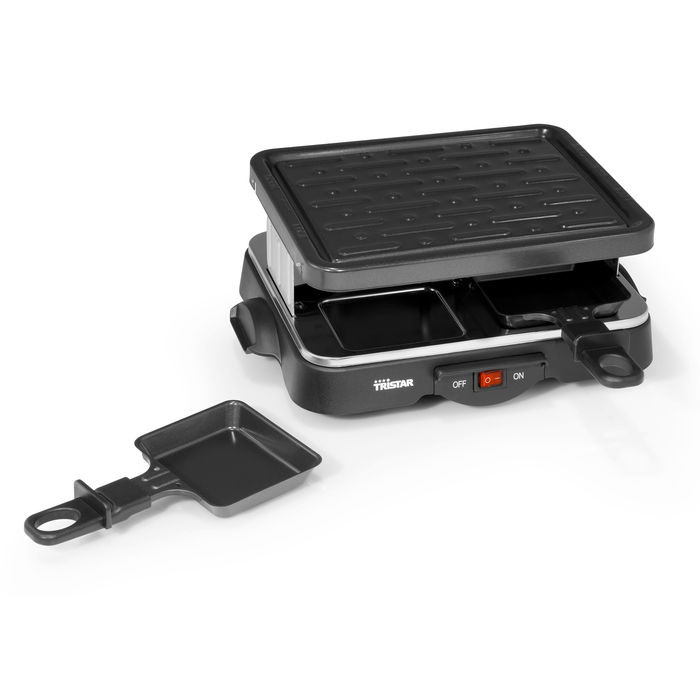 appareil raclette 4 personnes 500w tristar raviday fromage