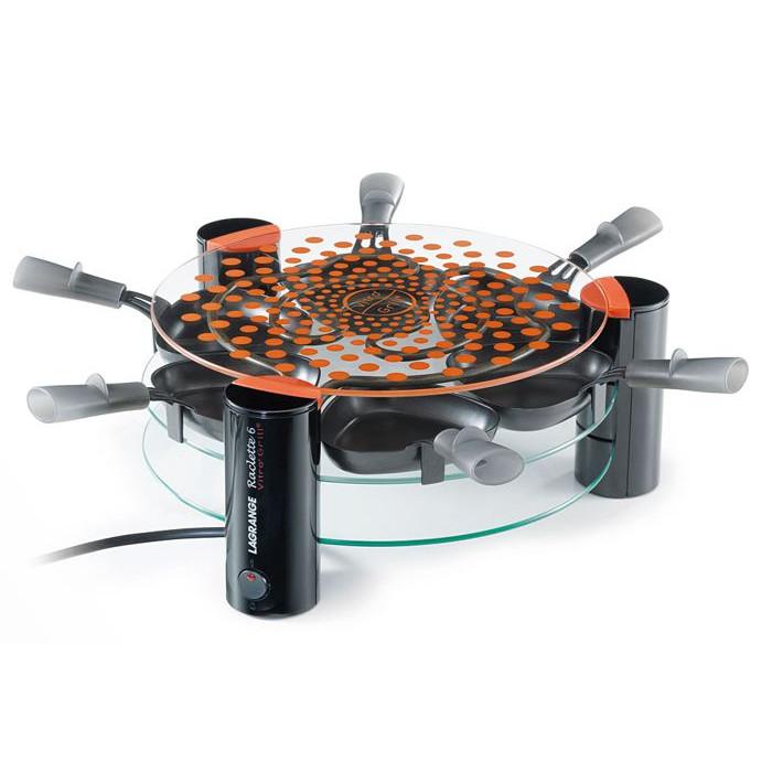 appareil raclette 6 personnes lagrange vitro 39 grill raviday fromage. Black Bedroom Furniture Sets. Home Design Ideas