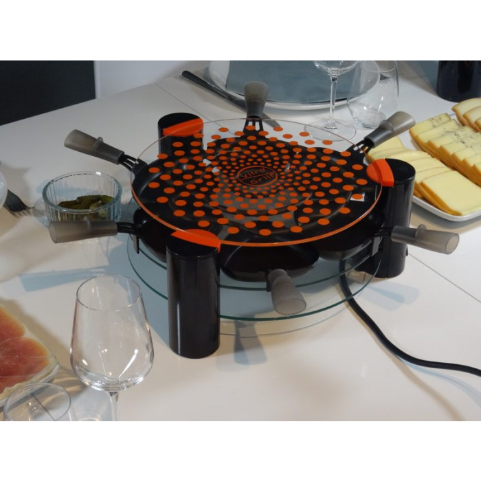 appareil raclette 6 personnes lagrange vitro 39 grill raviday fromage. Black Bedroom Furniture Sets. Home Design Ideas