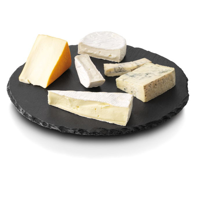 plateau fromage en ardoise 30 cm boska lazy susan raviday fromage. Black Bedroom Furniture Sets. Home Design Ideas